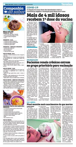 Página 18 do Jornal meionorte