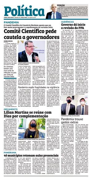 Página 3 do Jornal meionorte