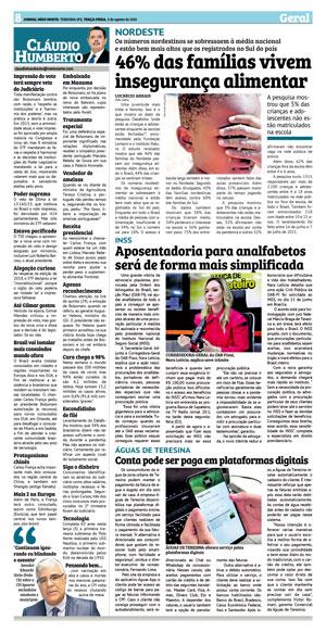 Página 8 do Jornal meionorte