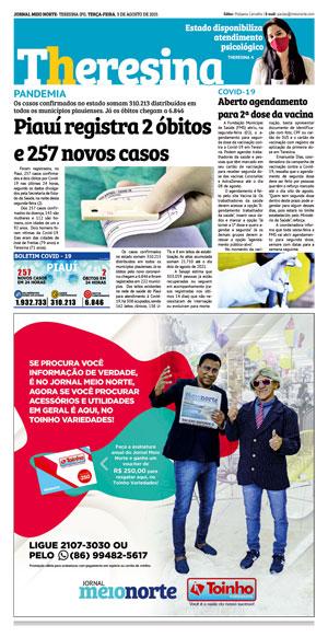 Página 11 do Jornal meionorte