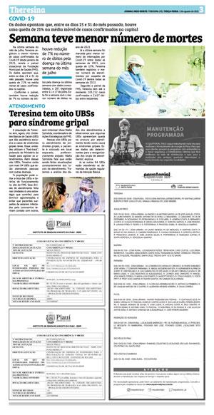 Página 13 do Jornal meionorte