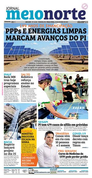 Página 1 do Jornal meionorte